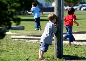 Une activité classique pour jouer avec les enfants