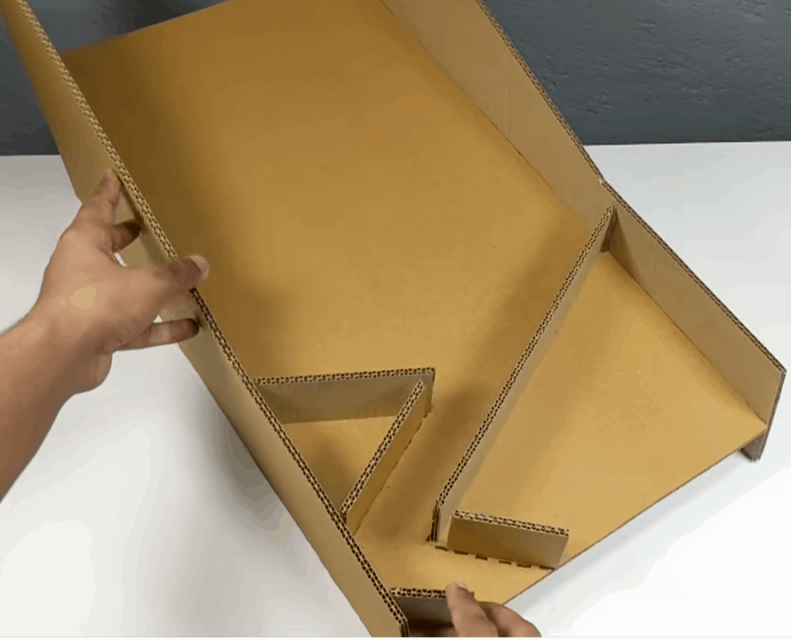 DIY, la base du jeu de basket en carton