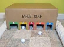 Un jeu pour enfant DIY : le golf