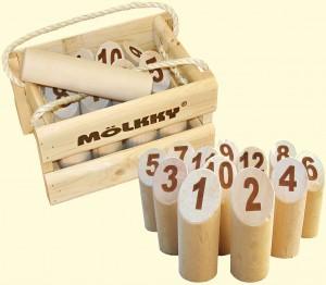 Occuper ses efants avec un jeu ludique et rigolo : Le Mölkky