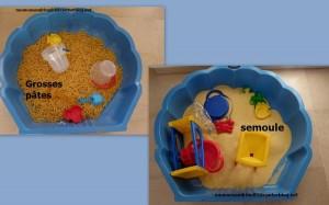 créer un bac sensoriel pour les enfants