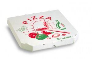 Activité pour les enfants : bricolage de boite à pizza