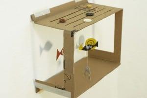 Fabrication d'un aquarium en carton avec les enfants