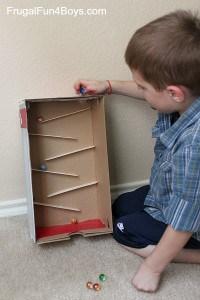 Un jeu facile à construire et à jouer pour les enfants
