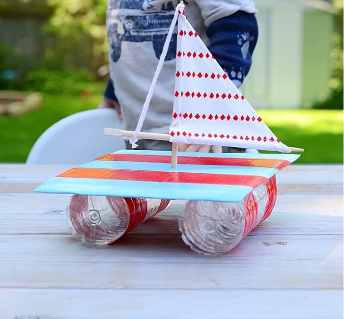 Un bateau pour enfant fait maison ! - YaPasEcole