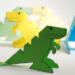 Un dinosaure en carton !