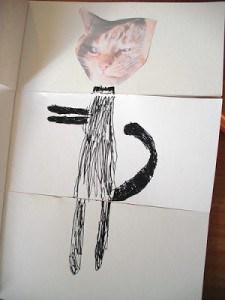 Activite-fille-dessin-avec-tete-du-chat