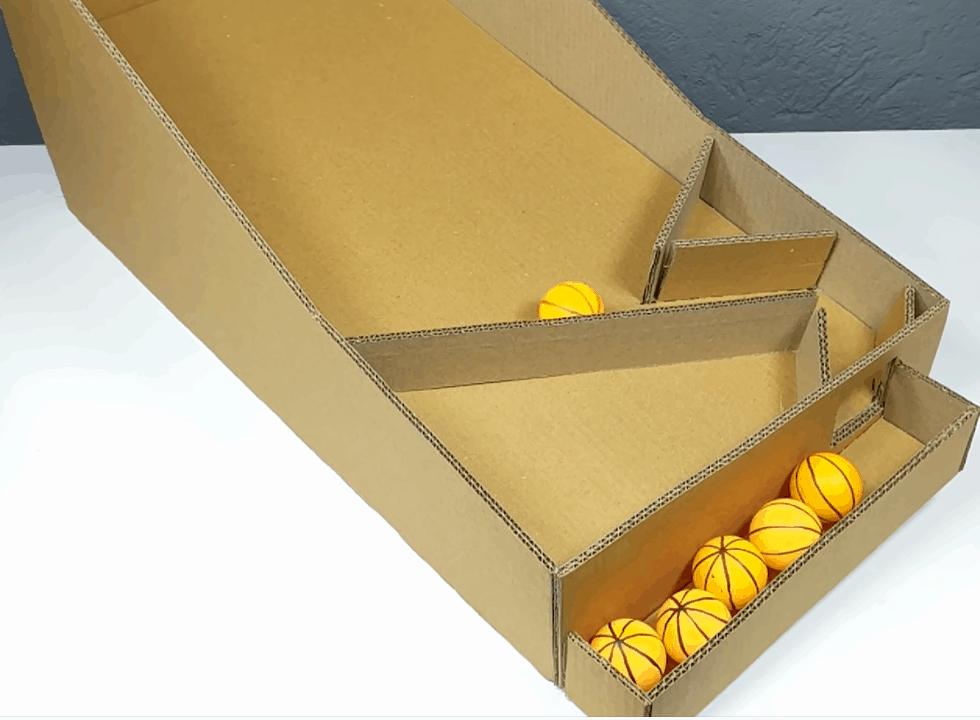 DIY Le bac de récupération des balles de basket