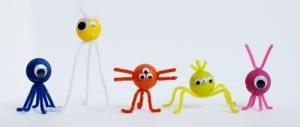 Monstres fait-maison, une façon drôle et amusante pour occuper les enfants