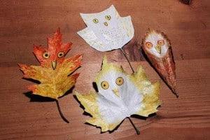 idées-creer-animaux-avec-feuilles-mortes-arbres-automne